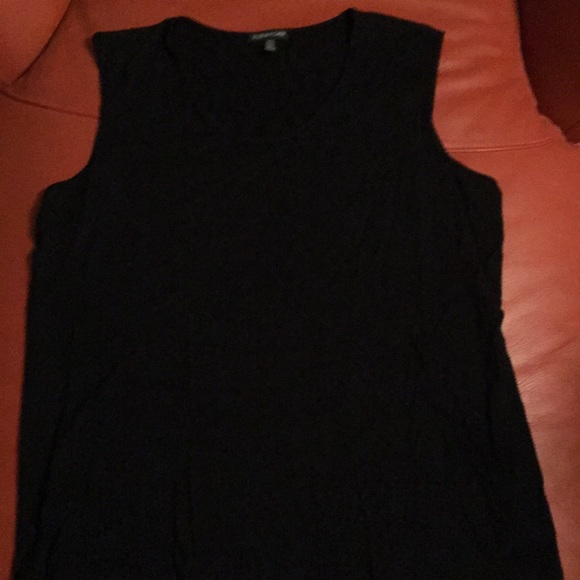 1639efb5 Eileen Fisher Tops - Eileen Fisher sleeveless black top